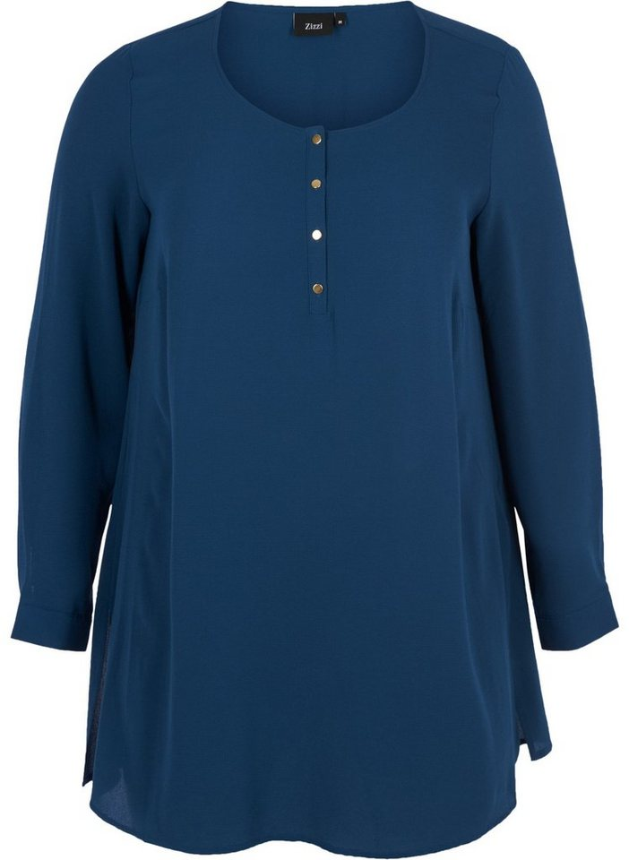 Zizzi Tunika | Bekleidung > Tuniken > Sonstige Tuniken | Blau | Zizzi