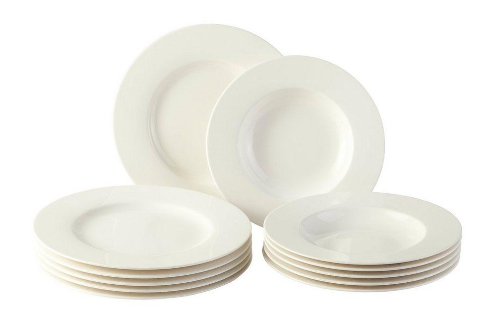 Tafel 6 Personen : Vivo villeroy & boch tafel set 12tlg für 6 personen »basic white