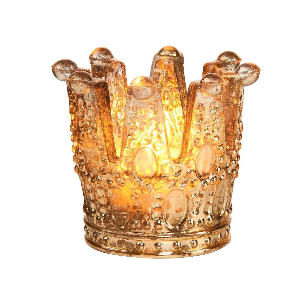 BUTLERS ROYAL DELIGHT »Krone Teelichthalter groß«