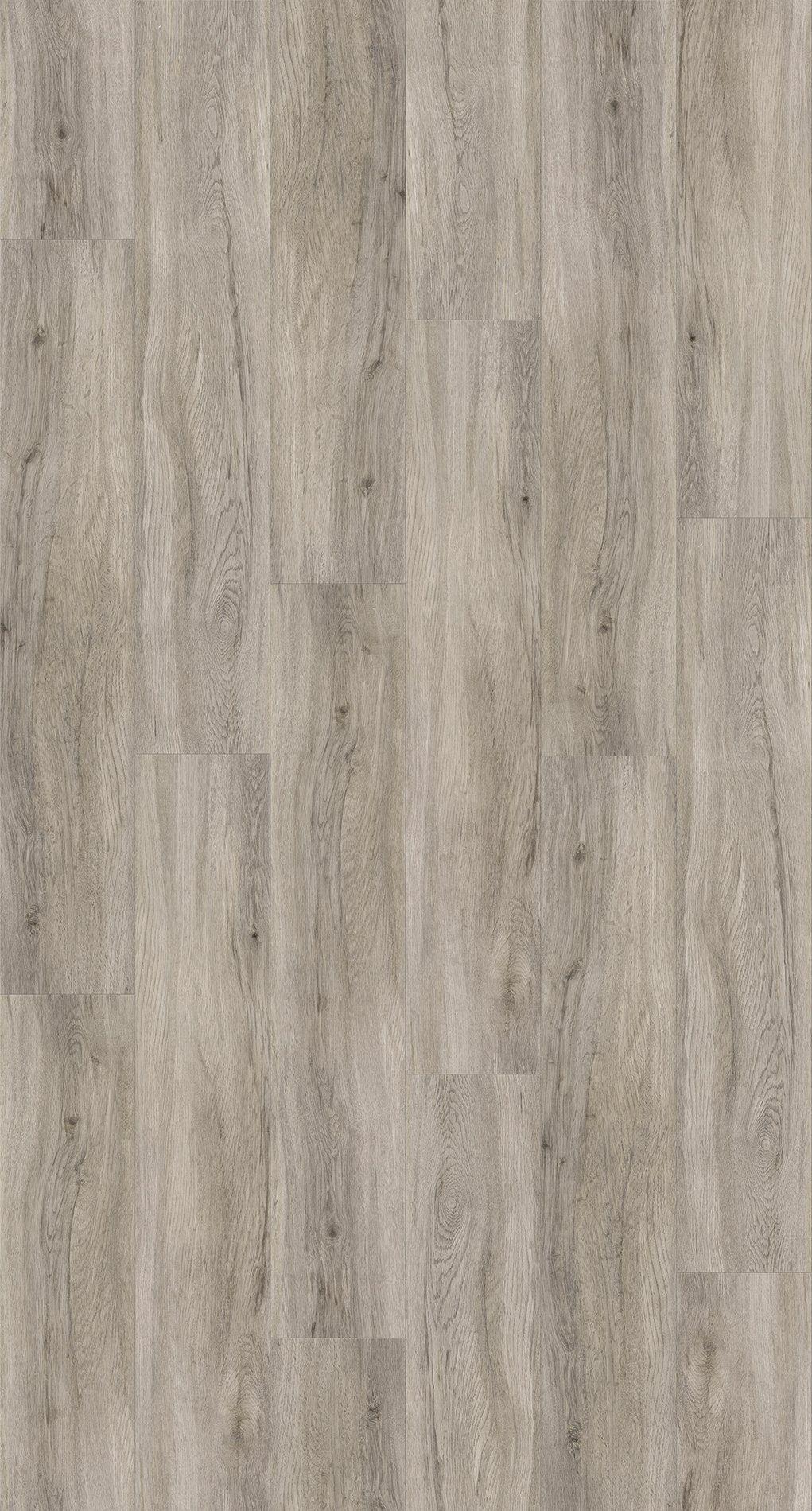 PARADOR Packung: Vinylboden »Basic 2.0 - Eiche pastellgrau«, 1226 x 229 x 2 mm, 4,5 m²
