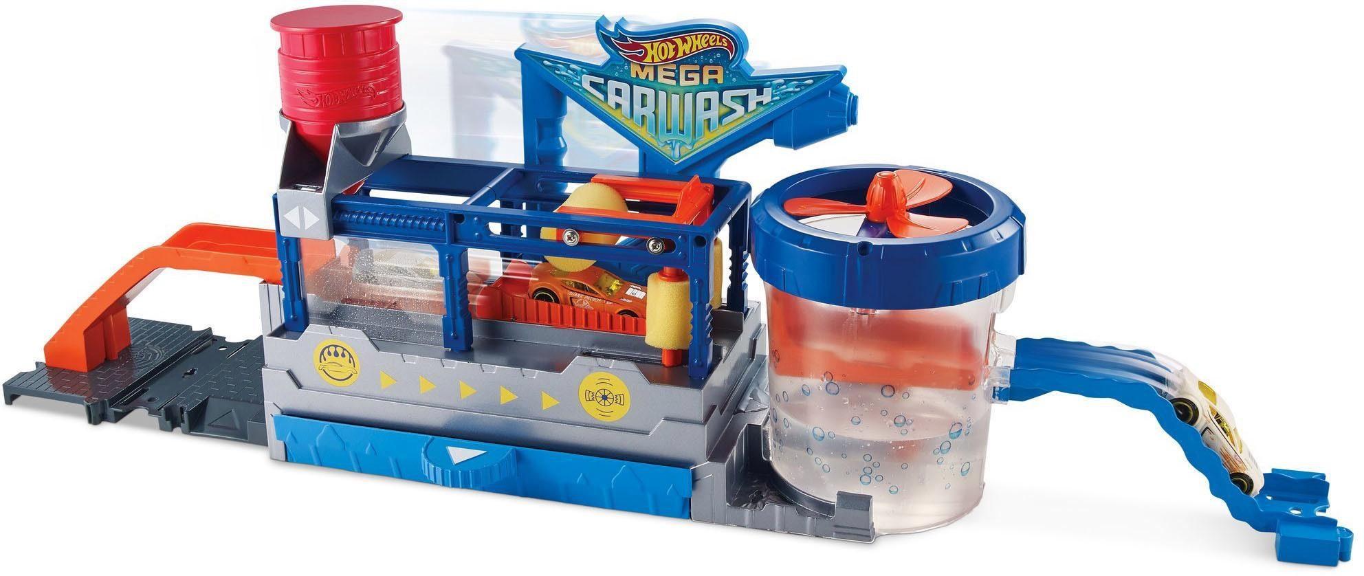 Mattel Spielset, »Hot Wheels® City Mega Autowaschanlage«