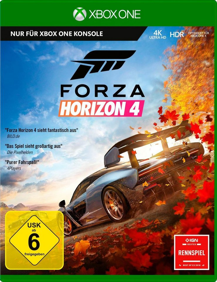 forza horizon 4 xbox one online kaufen otto. Black Bedroom Furniture Sets. Home Design Ideas