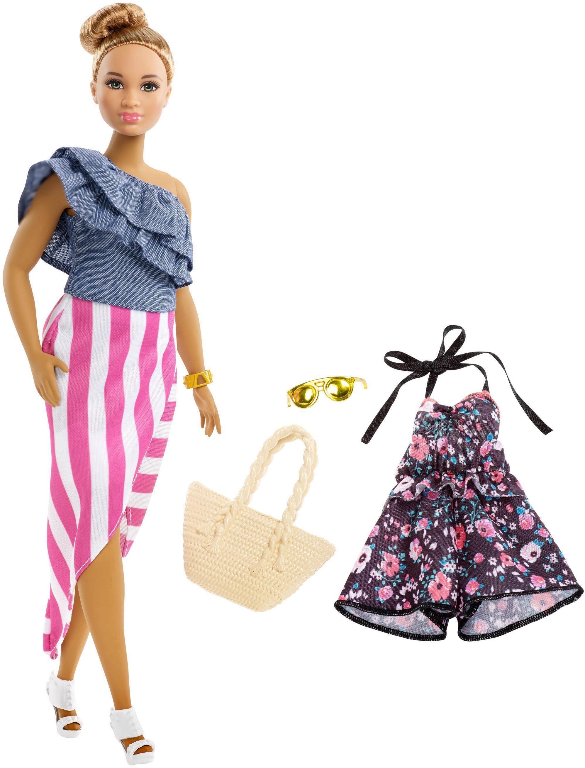 Mattel® Puppe »Barbie Fashionistas Puppe mit Jumpsuit«