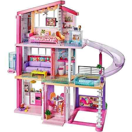 Puppen: Anziehpuppen: Barbie: Barbie Puppenhaus