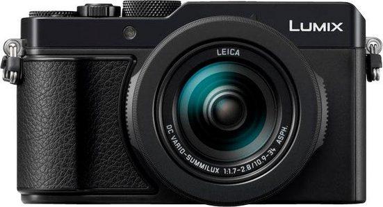 Lumix Panasonic »DC-LX100M2EG« Kompaktkamera (Leica Objektiv DC-Vario-Summilux 1,7-2,8/ 24-75mm, 17 MP, 3x opt. Zoom, WLAN (Wi-Fi), Bluetooth)
