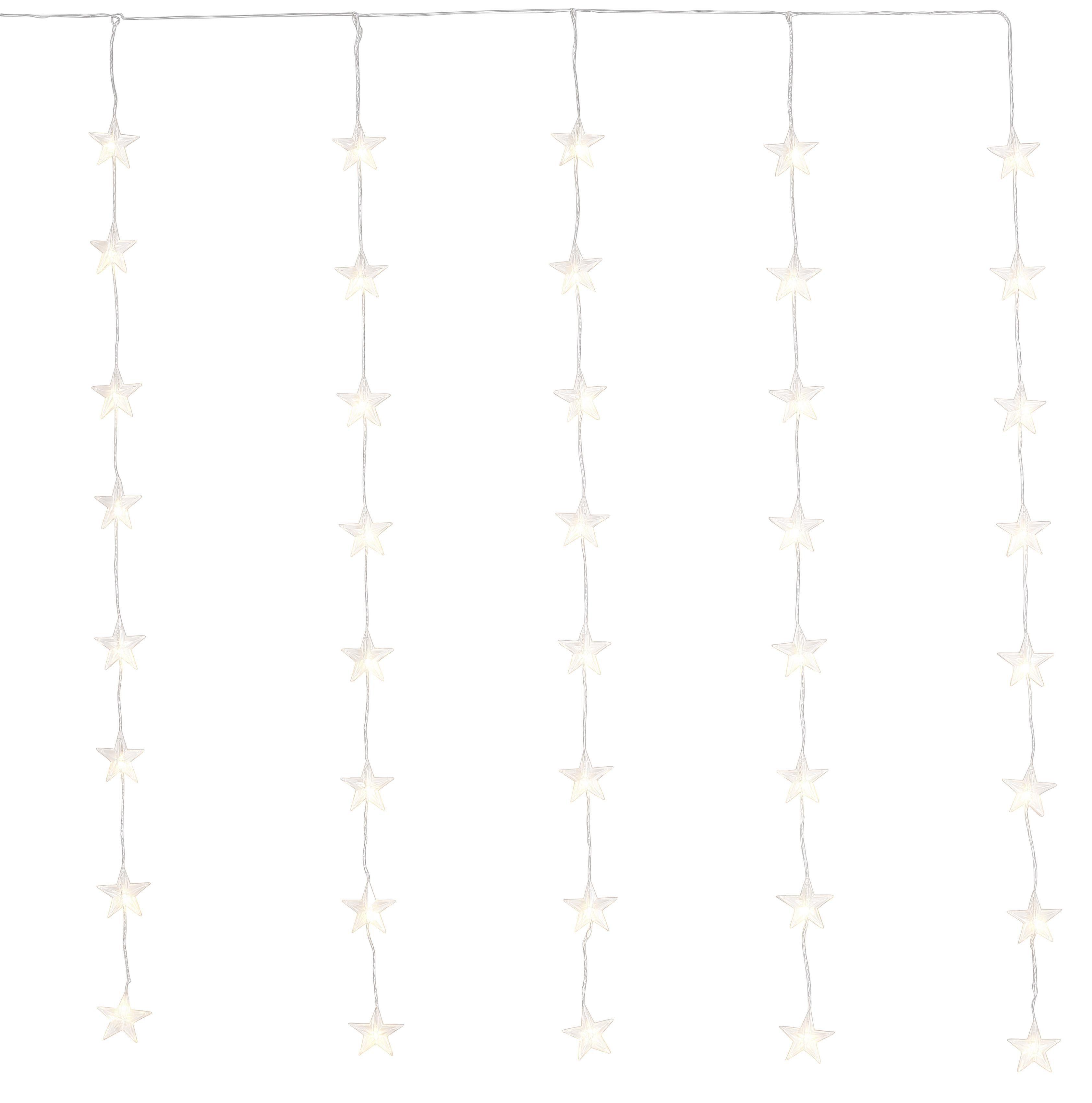 LED Tür-Vorhang mit 60 LEDs