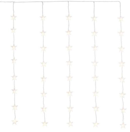 Lichtervorhang, 60-flammig, LED-Tür-Vorhang