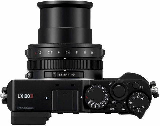 Digitalkameras - Lumix Panasonic »DC LX100M2EG« Kompaktkamera (Leica Objektiv DC Vario Summilux 1,7 2,8 24 75mm, 17 MP, 3x opt. Zoom, WLAN (Wi Fi), Bluetooth)  - Onlineshop OTTO