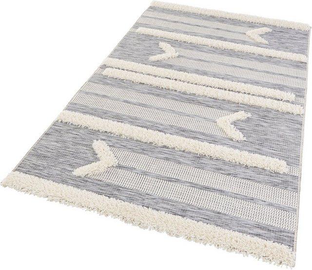 Teppich »Kantina«  MINT RUGS  rechteckig  Höhe 35 mm  In- und Outdoor geeignet  Hoch-Tief-Struktur   Heimtextilien > Teppiche > Sonstige-Teppiche   MINT RUGS