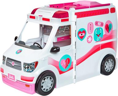 mattel spielset barbie 2 in 1 krankenwagen otto. Black Bedroom Furniture Sets. Home Design Ideas