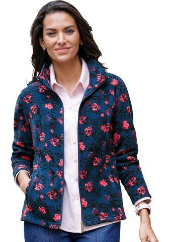 CLASSIC BASICS Флисовая куртка в floralen дизайн