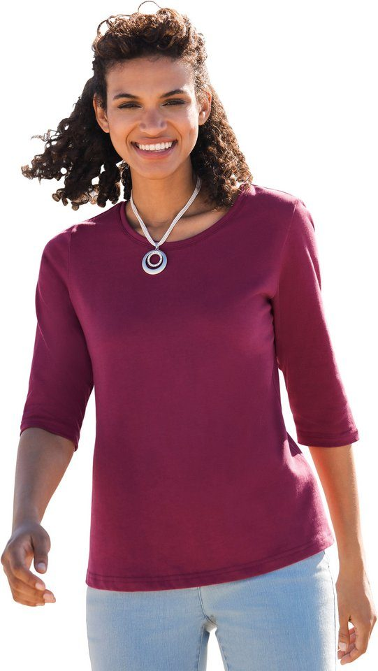 Classic Basics Shirt in kombistarker Farbgebung