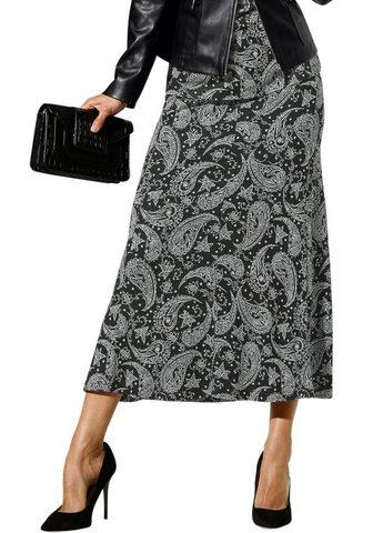ALESSA W. Trikotažinis sijonas su Paisley-Dessin...