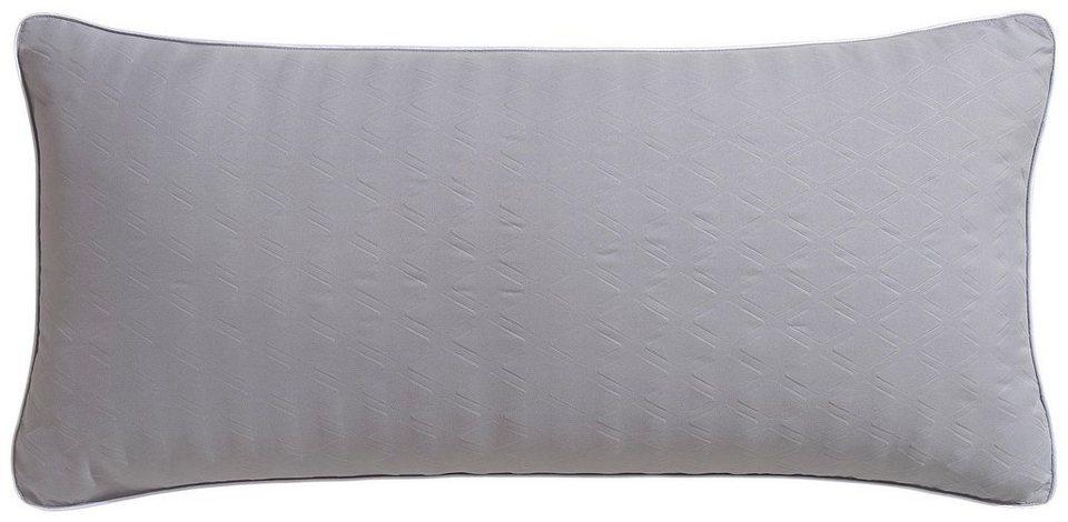 Microfaserkissen Float My Home Fullung 100 Polyester Bezug Polyestergewebe 1 Tlg Bezug Einseitig Mit 3d Diamand Muster Gepragt Online