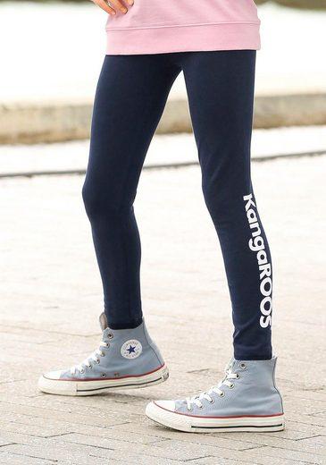KangaROOS Leggings mit Logodruck