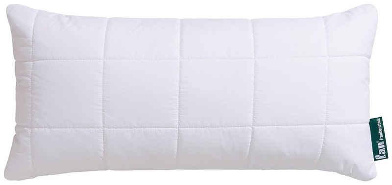 Microfaserkissen, »Komfort Plus XXL-Warm«, fan Schlafkomfort Exklusiv, (1-tlg), flauschig, kuscheliges Kopfkissen