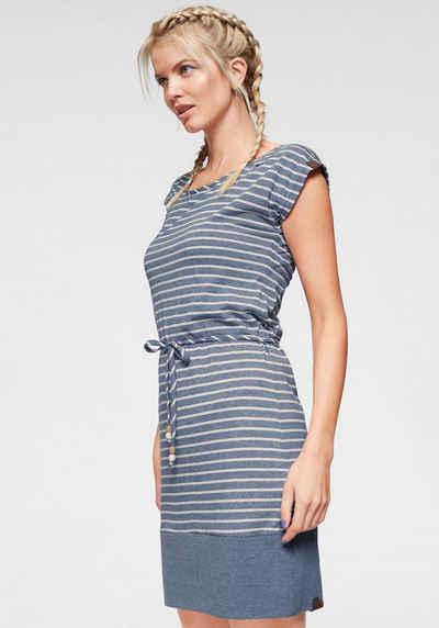 8b898c729ed828 Ragwear Shirtkleid »SOHO STRIPES« mit maritimen Streifen und Bindeband