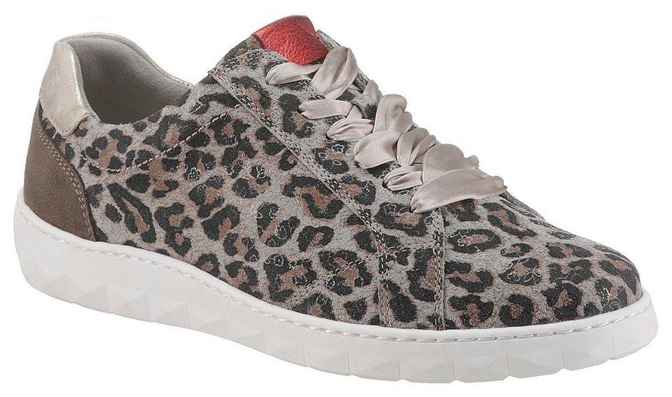 6831f98104 Waldläufer »HERNE« Sneaker in Leoparden-Optik und Komfortweite H ...