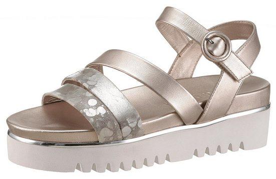 Trendigen Tizian look Shoes Metallic Im Plateausandale SwRFYvqg4