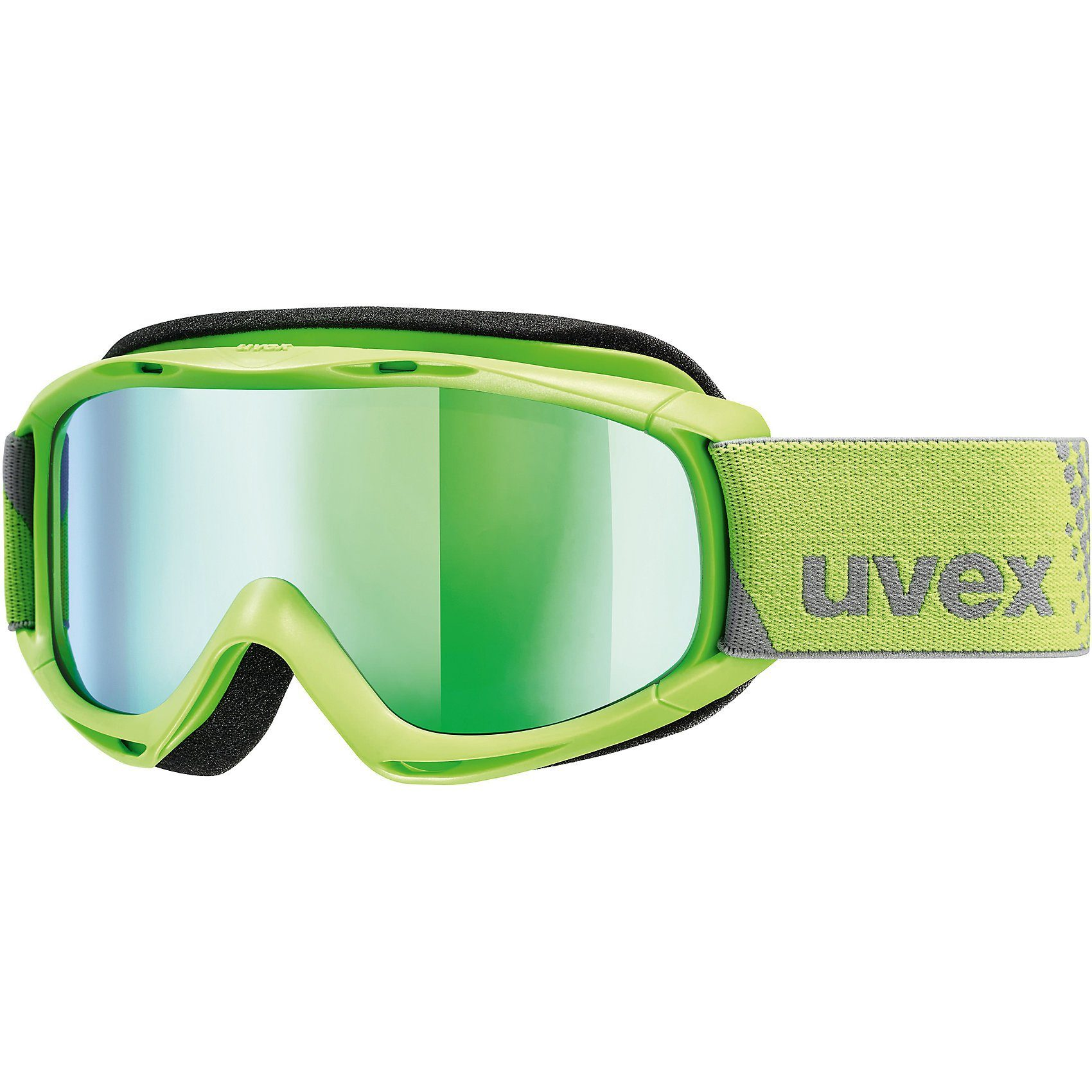 Uvex Skibrille slider FM, applegreen dl/green-lgl