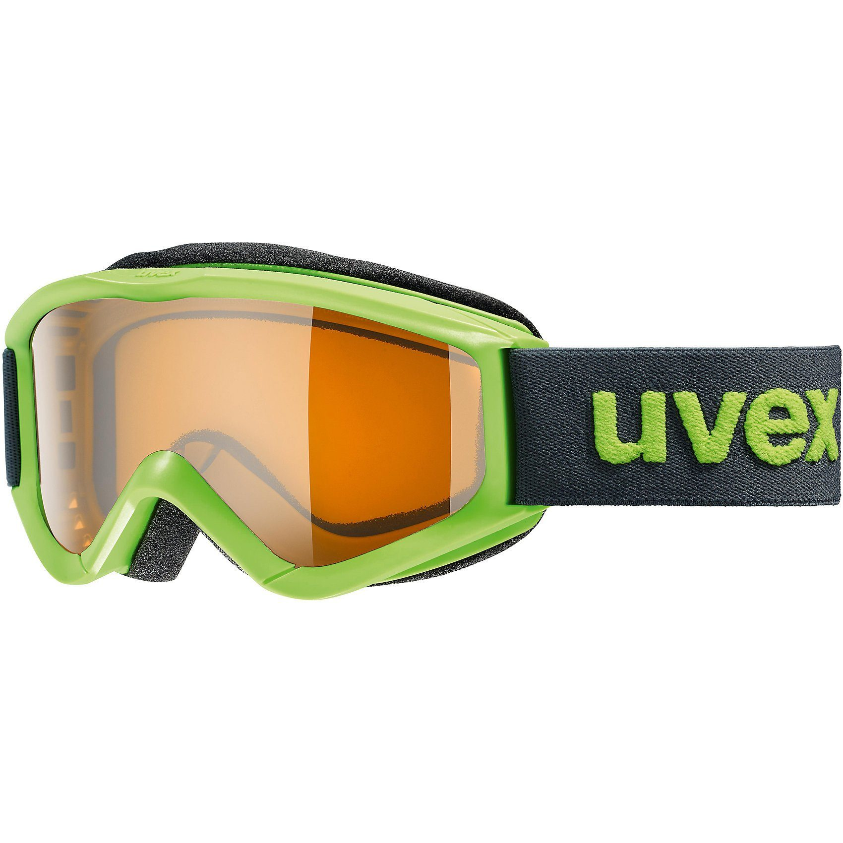 Uvex Skibrille speedy pro, lightgreen sl/lasergold