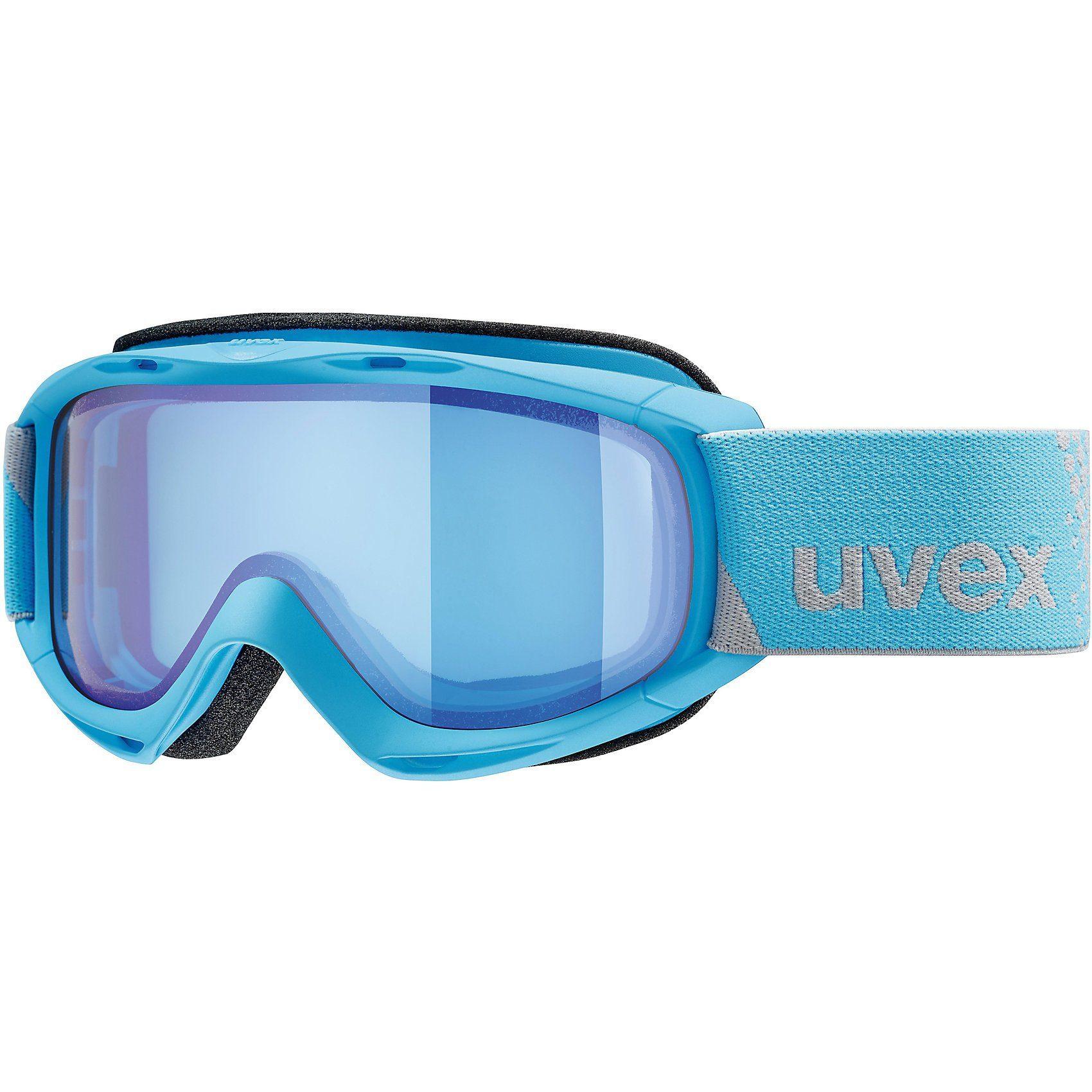 Uvex Skibrille slider FM, blue dl/blue-blue