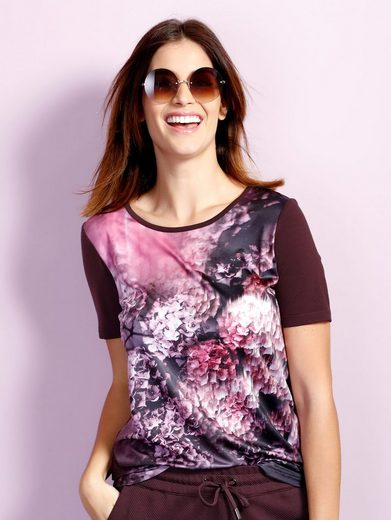 Laura Kent Shirt mit exklusivem Druck im Vorderteil