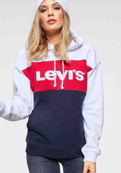 Levi's® Kapuzensweatshirt »CB Sportswear Hoodie« Colour Block mit Marken-Logo