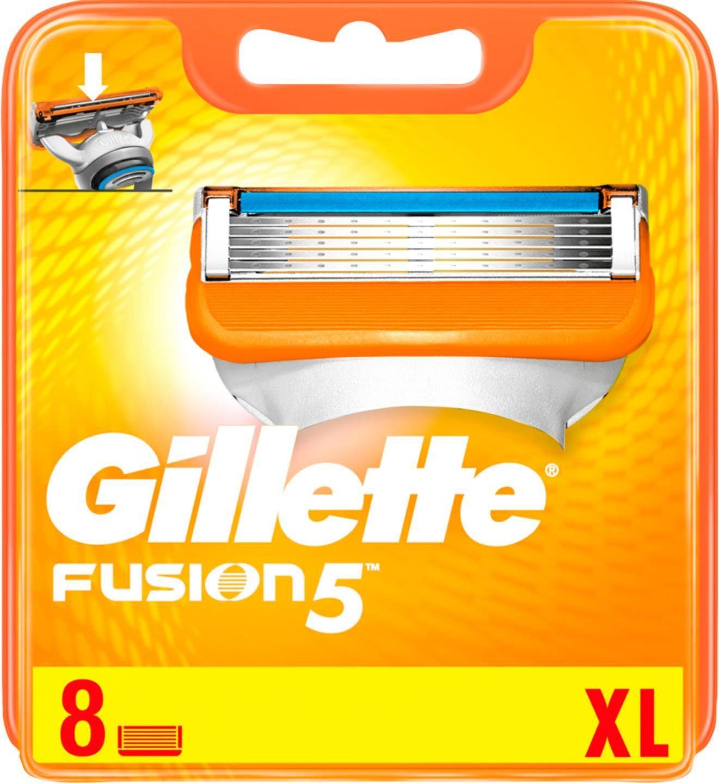 Gillette, »Fusion Manual«, Rasierklingen, 8-tlg.