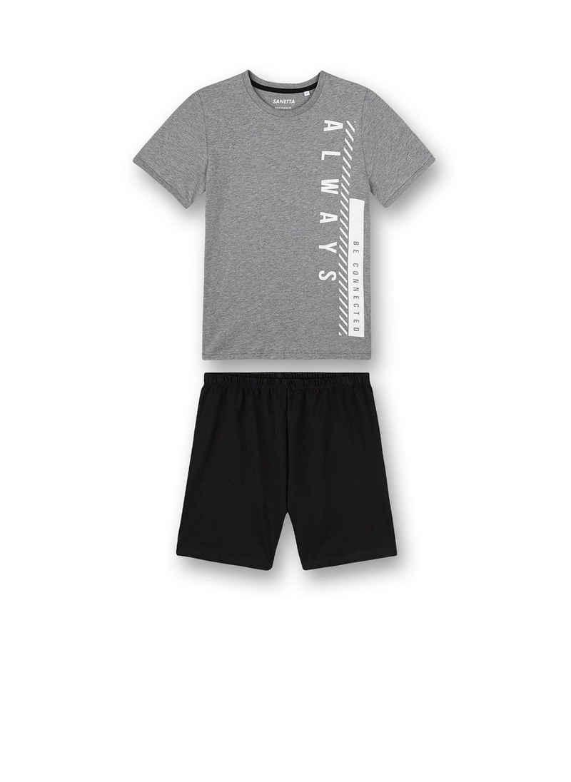 Sanetta Pyjama »Jungen Schlafanzug Set - kurz, Kinder, 2-tlg.«