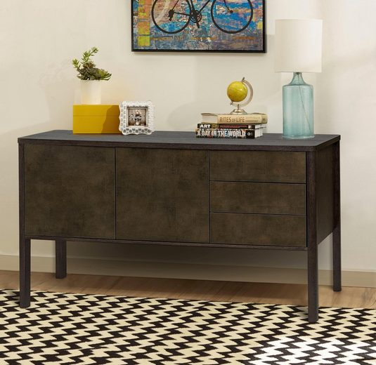 Woodman Sideboard»Nic«, Breite 128 cm