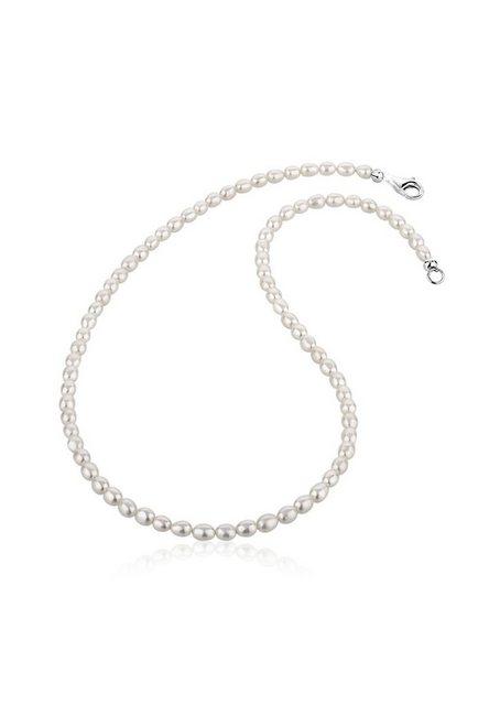 Nenalina Perlenkette »Zeitlos Klassik Süßwasserzuchtperlen 925 Silber« | Schmuck > Halsketten > Perlenketten | Nenalina
