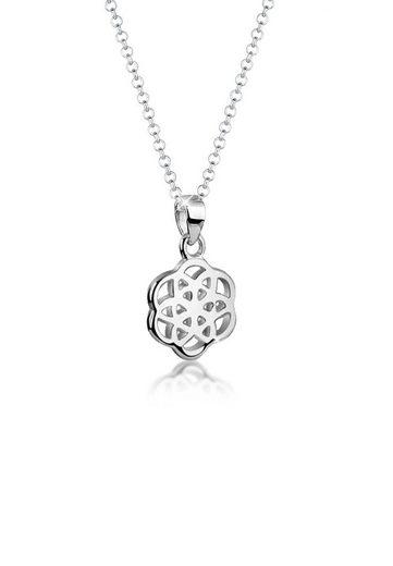 Nenalina Collierkettchen »Lebensblume Anhänger Ornament 925 Silber«