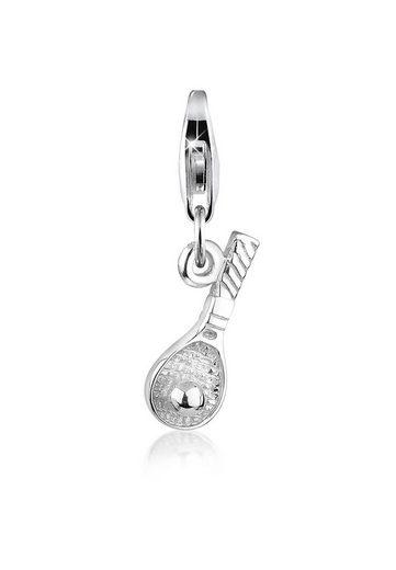 Nenalina Charm-Einhänger »Anhänger Tennisschläger Sport Ball 925 Silber«