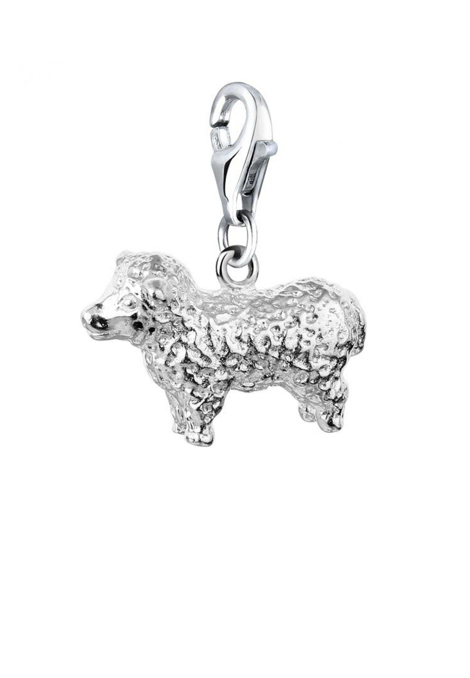 Tierfreund Natur Charm Lamm Silber« Nenalina einhänger Kaufen 925 »schaf Online IYgvb6fy7m