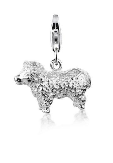 Nenalina Charm-Einhänger »Schaf Natur Tierfreund Lamm 925 Silber«