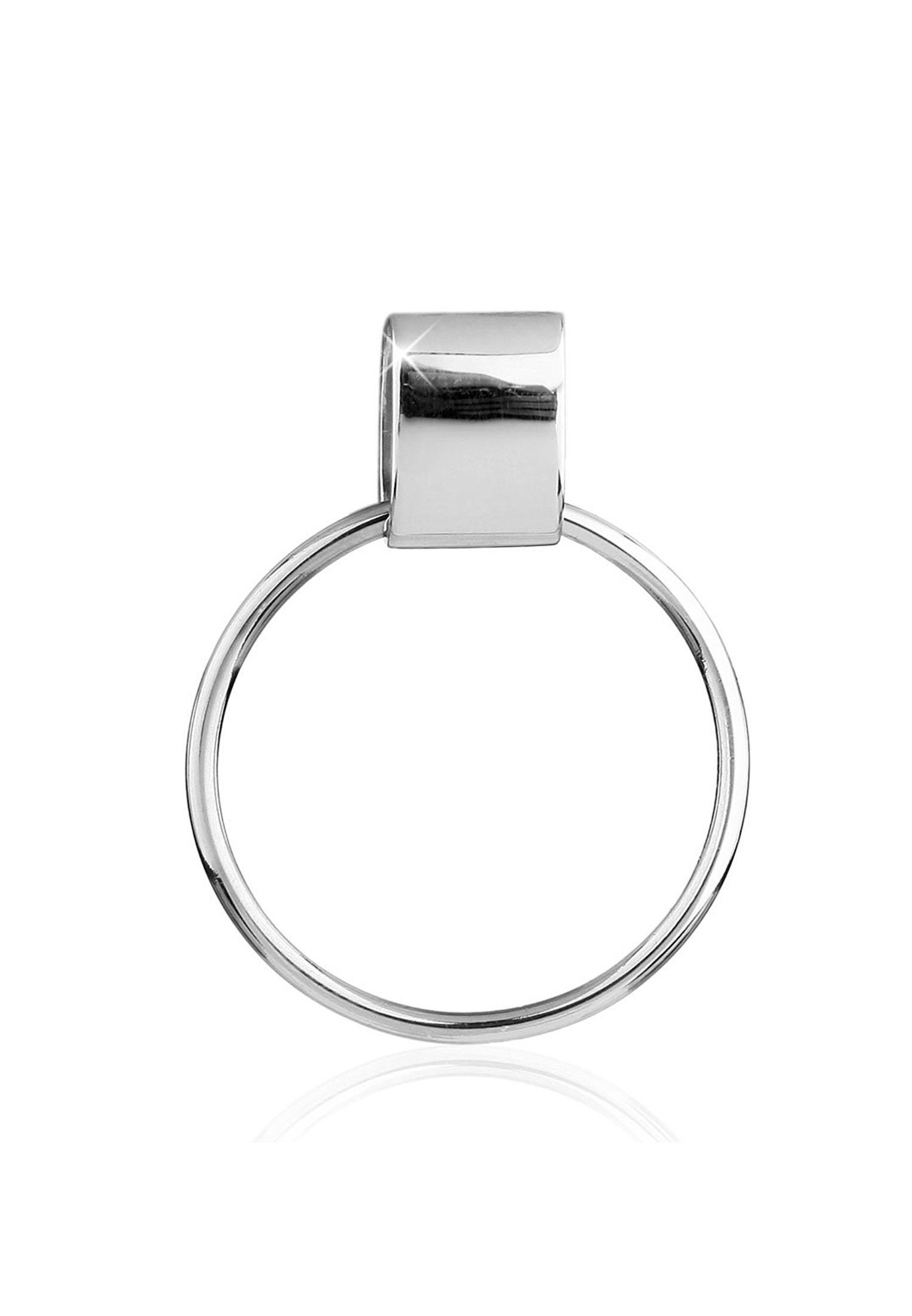 Nenalina Charm-Einhänger »Basic Charmträger Kombinierbar Anhänger 925 Silber«