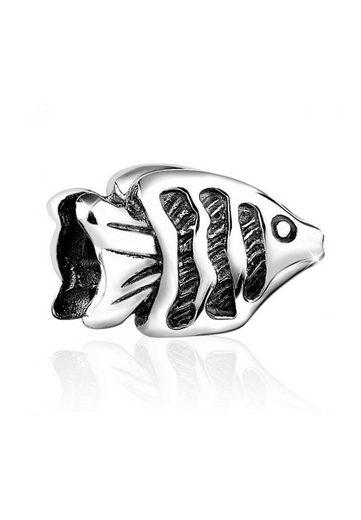 Nenalina Charm-Einhänger »Fisch Meer Bead Anhänger Urlaub 925 Silber«