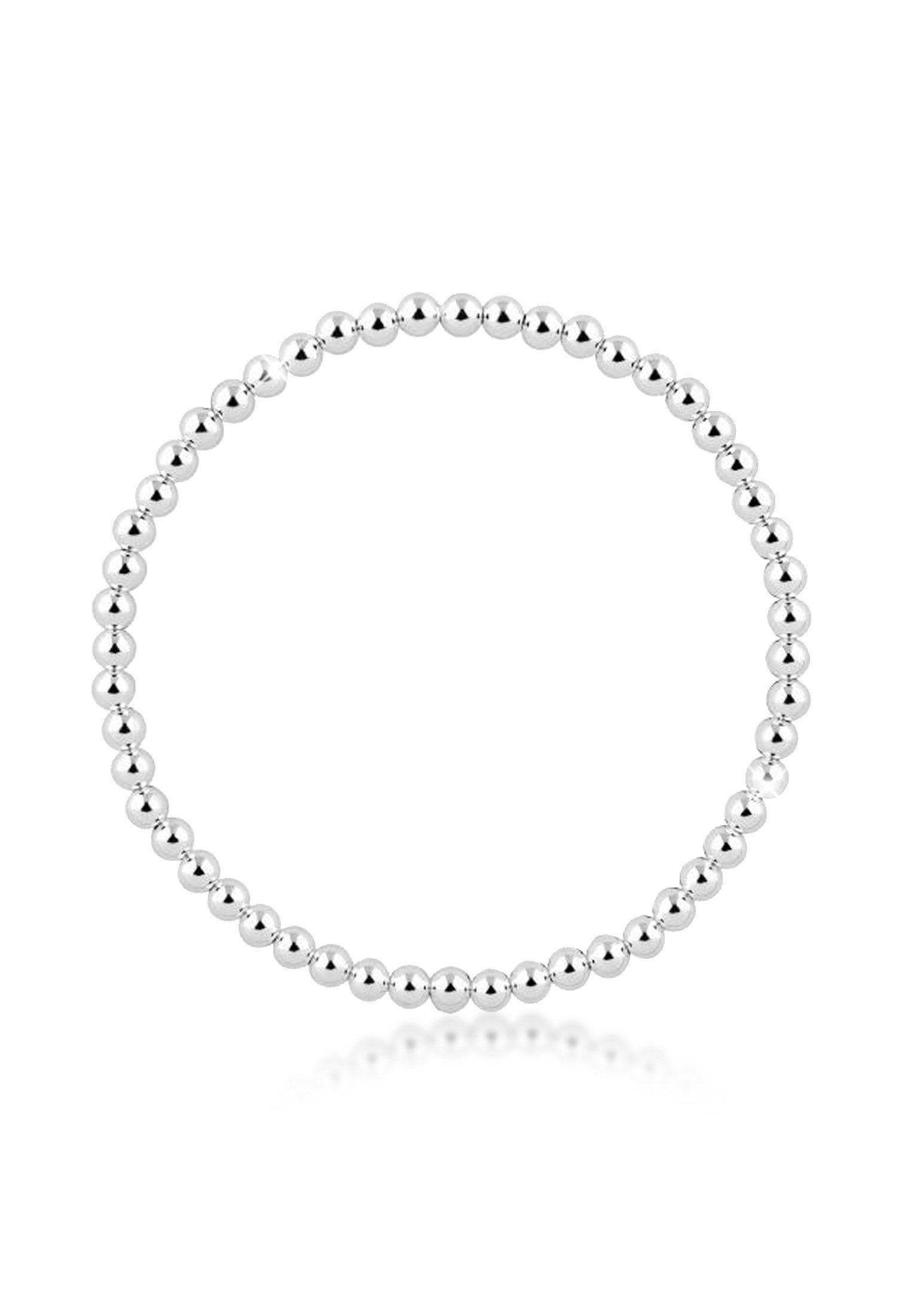Nenalina Armband »Silberball Basic Kugel Geo 925 Sterling Silber«