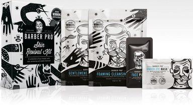 BARBER PRO Gesichtsmasken-Set »Skin Revival Kit« Set, 4-tlg.
