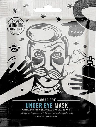 BARBER PRO Augenmaske »Under Eye Mask«, 3-tlg., Anti-aging Hydrogel Pflaster