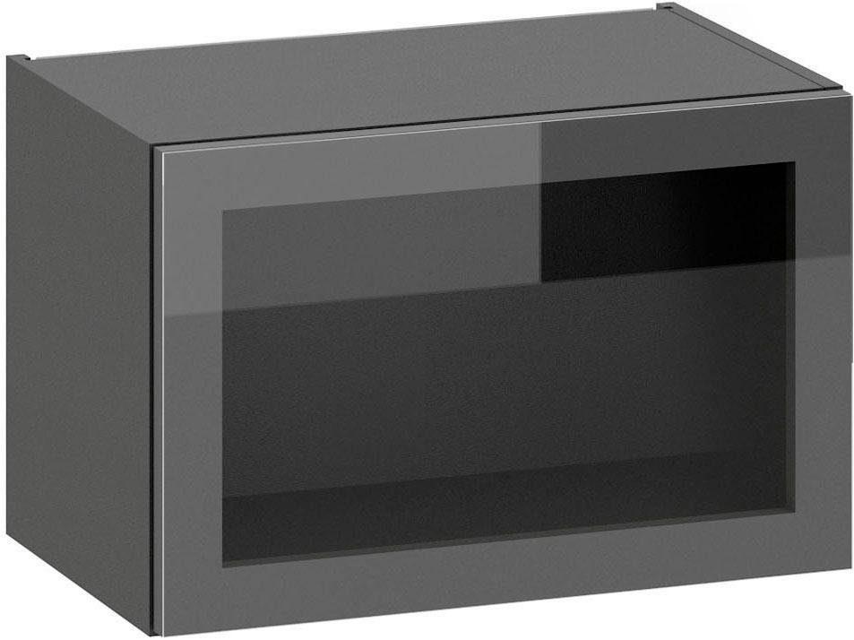 S+ by Störmer Klappenhängeschrank »Melle Premium« mit Glasfront, Breite 60 cm, vormontiert