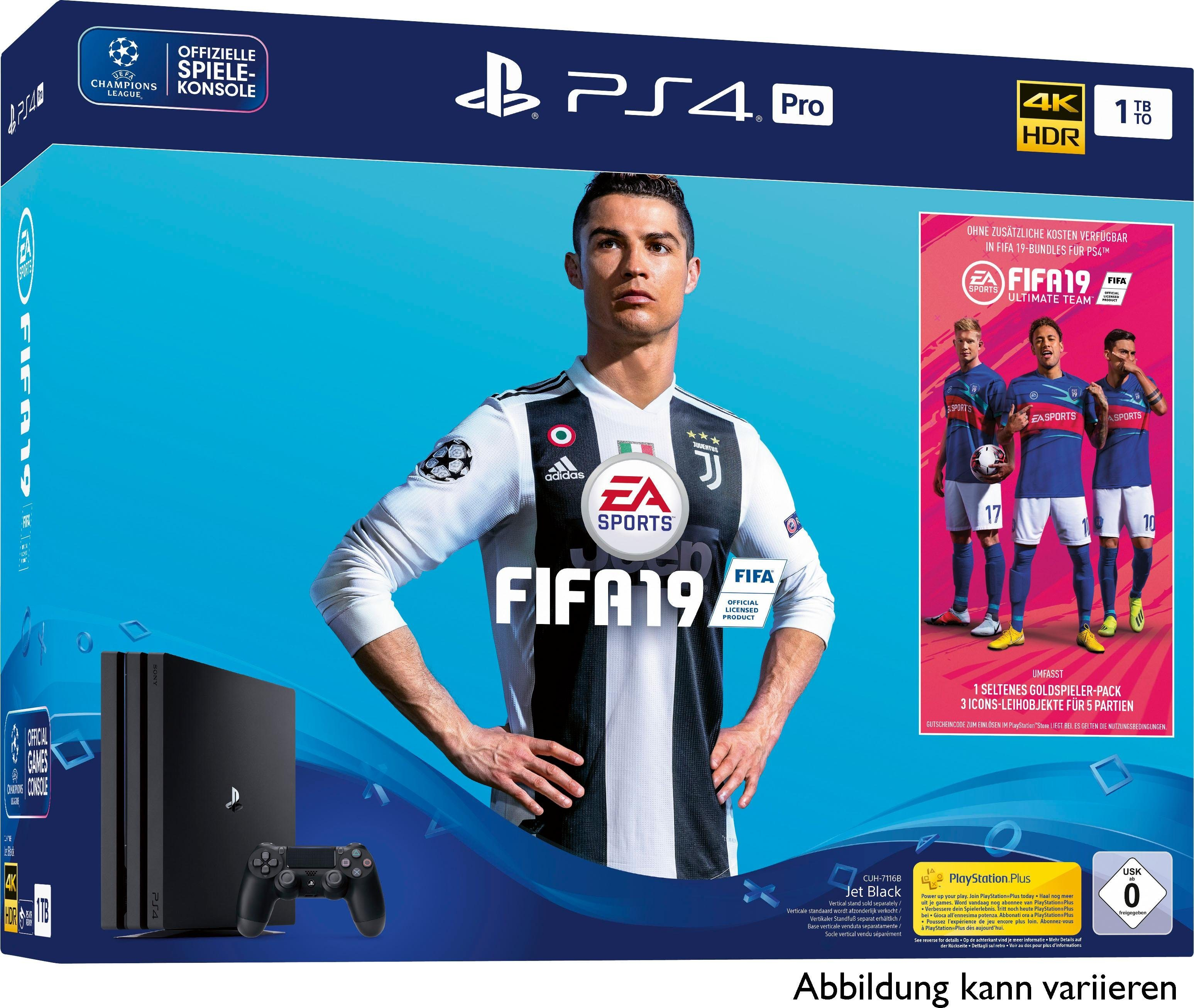 Pro 1TB (Set), inkl. FIFA 19