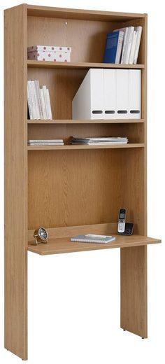 Home affaire Bücherregal »Dana«, mit Schreibtisch, Höhe 217 cm