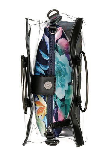 Reißverschluss Henkeltasche Herausnehmbarer innentasche Mit »cosima« Buffalo 1pzwBPqxx