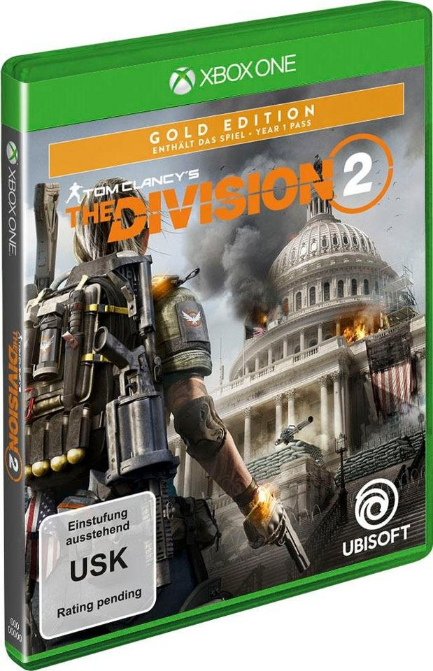 tom clancy 39 s the division 2 gold edition xbox one otto. Black Bedroom Furniture Sets. Home Design Ideas