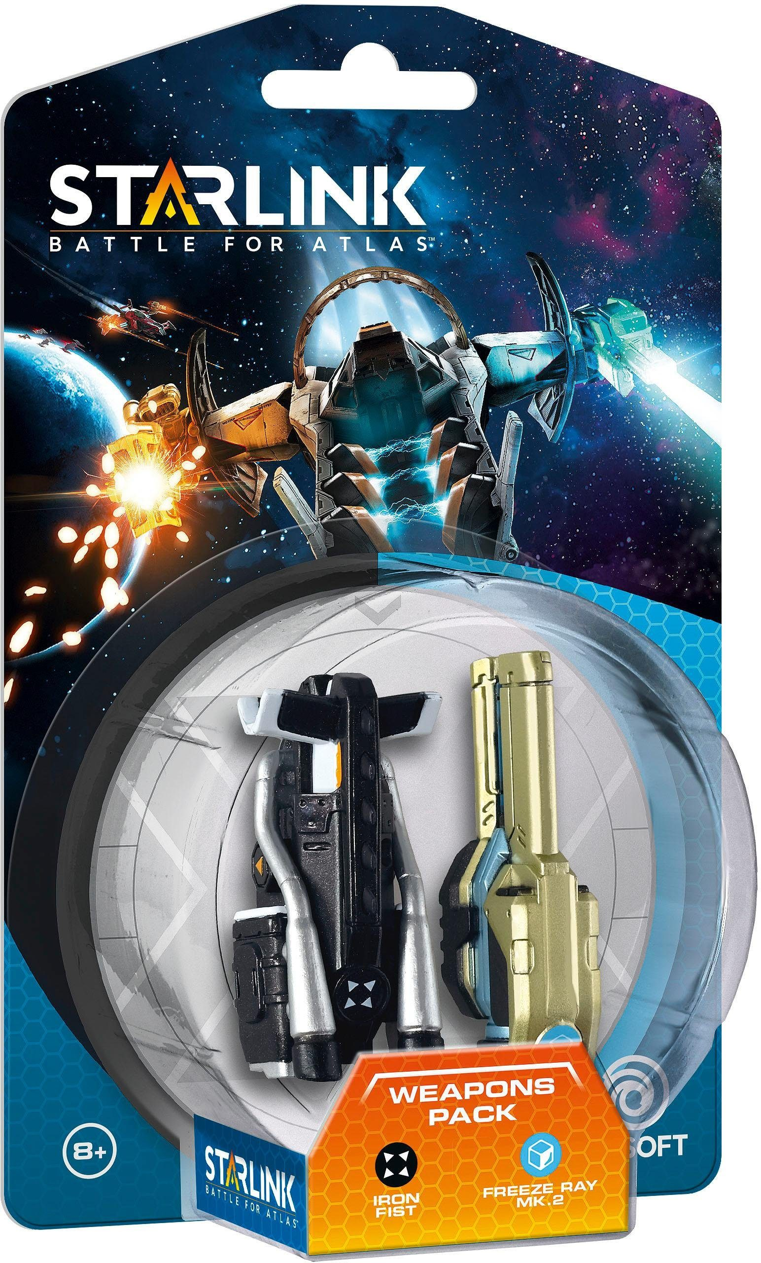 Starlink Weapon Pack - Iron Fist & Freeze Ray Spielfigur
