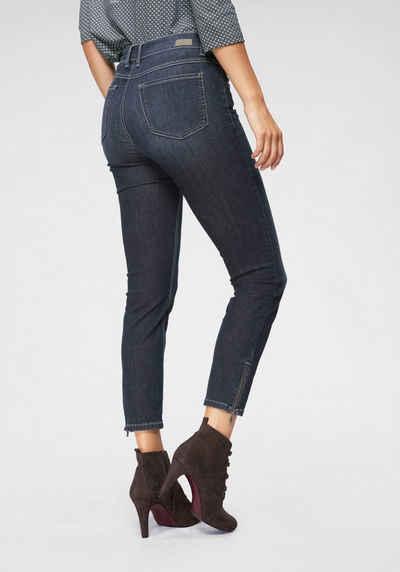 cad2768baa624e ANGELS Ankle-Jeans »Skinny Ankle« Mit Reißverschlluss am Saum