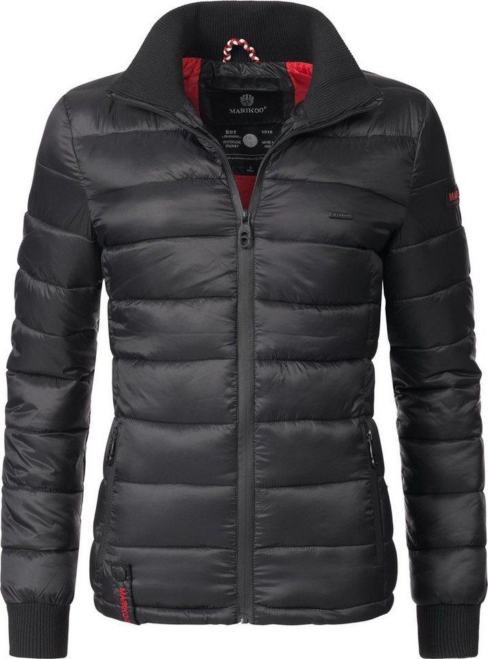 save off 90f19 3c185 Marikoo Steppjacke »Fiona« modische Damen Übergangsjacke mit Stehkragen  online kaufen | OTTO