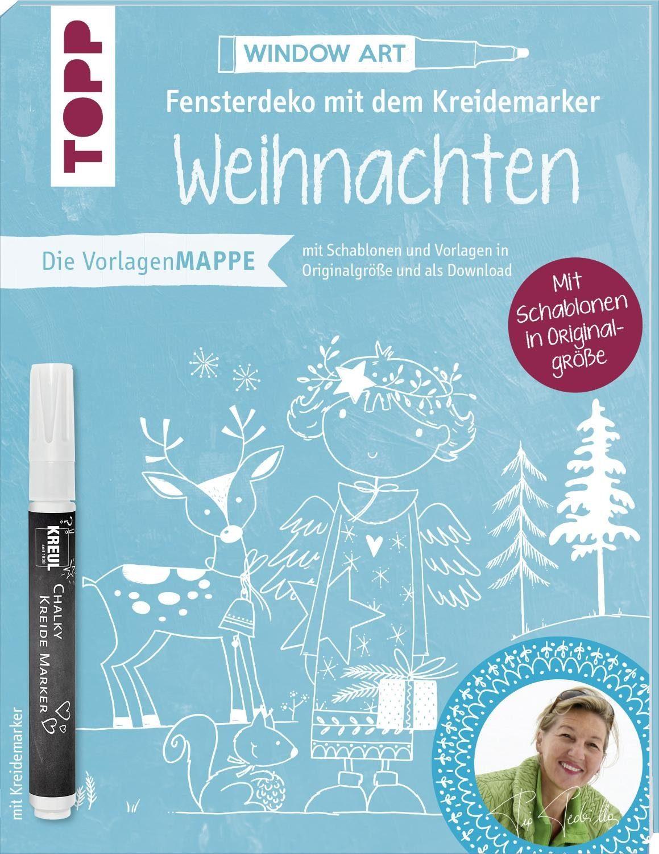 """Topp Buch """"Fensterdeko mit dem Kreidemarker - Weihnachten"""""""